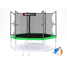 Батут детский Hop-Sport 10ft (305cm) green с внутренней сеткой