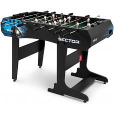 Настольный футбол Hop-Sport Sector черно-синий