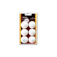 Мячики для настольного тенниса Enebe 6шт Match белые 845505
