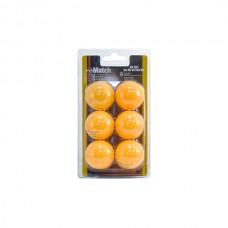 Мячики для настольного тенниса Enebe 6 шт Match 845506