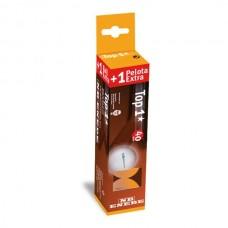 Мячики для настольного тенниса Enebe 3+1шт TOP 1* оранжевые 845496