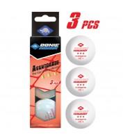 Мячи для настольного тенниса Donic Advantgarde 3* 40+ 3шт white