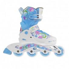 Роликовые коньки Nils Extreme NJ2117A Size 34-37 Blue/Pink