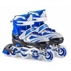 Роликовые коньки 3в1 Hop-Sport HS-8101 Speed S (размер) синие