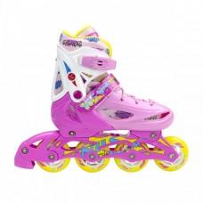 Роликовые коньки Nils Extreme NJ1905A Size 35-38 Pink