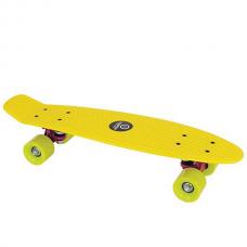 Скейтборд BUFFY желтый Tempish 106000076/YELLOW