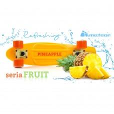 Скейтборд Meteor pineapple 23699