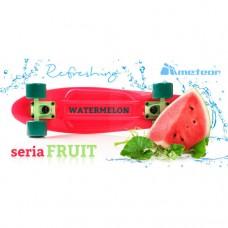 Скейтборд Meteor watermelon 23997