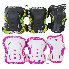 Защита FID KIDS (колени, локти, запястья) черный M TEMPISH 1020000004/black/M