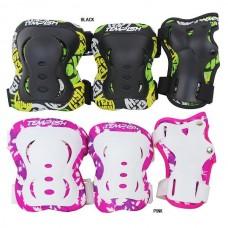 Защита FID KIDS (колени, локти, запястья) черный S TEMPISH 1020000004/black/S