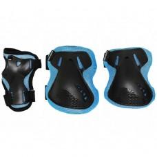 Комплект защитный SportVida SV-KY0005-S Size S Blue/Black