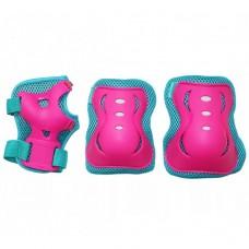 Комплект защитный SportVida SV-KY0002-S Size S Blue/Pink