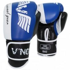 Боксерские перчатки V`Noks Lotta Blue 12 ун.