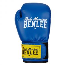 Боксерские перчатки RODNEY (голубые-черные) 14oz