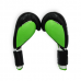 Перчатки боксерские THOR TYPHOON 16oz /PU /черно-зелено-белые