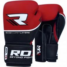 Боксерские перчатки RDX Quad Kore Red 12 ун.