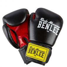 Боксерские перчатки FIGHTER (черно-красные) 10oz