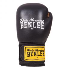 Боксерские перчатки Benlee EVANS 16oz /Кожа /черные
