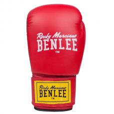 Боксерские перчатки RODNEY (красно-черные) 10oz