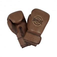 Боксерские перчатки Benlee BARBELLO 14oz /Кожа / коричневые