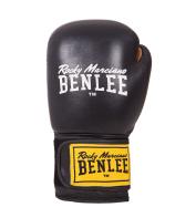 Боксерские перчатки EVANS (черные) 10oz