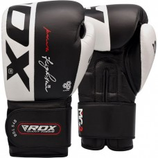 Боксерские перчатки RDX Black Pro 12 ун.