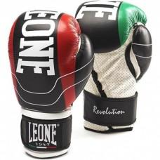 Боксерские перчатки Leone Revolution Black 14 ун.