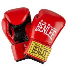 Боксерские перчатки FIGHTER (красно-черные) 10oz