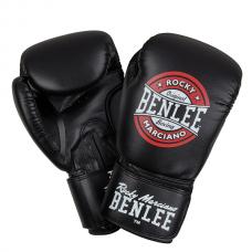 Боксерские перчатки PRESSURE (черно-красно-белые) 14oz