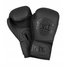 Боксерские перчатки Benlee BLACK LABEL NERO 12oz /PU/черные