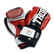 Боксерские перчатки THOR THUNDER (PU) RED 14 oz.