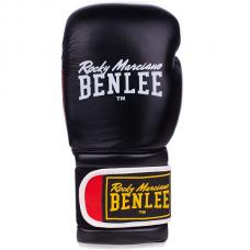 Боксерские перчатки Benlee SUGAR DELUXE 16oz /Кожа /черно-красные