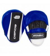 Боксерские лапы BoyBo Master (кожа) синие LF-340