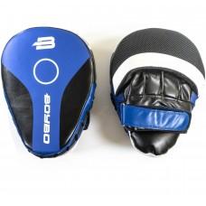 Боксерские лапы BoyBo Precision (FLEX) синие LF-740