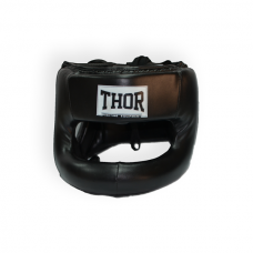 Шлем для бокса THOR NOSE PROTECTION 707 XL /PU / черный