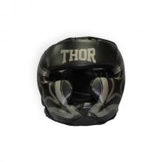 Шлем для бокса THOR COBRA 727 M /Кожа / черный