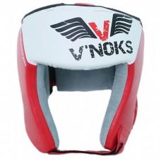 Боксерский шлем V`Noks Lotta Red XL