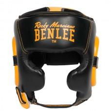 Шлем для бокса Benlee BROCKTON S/M /черно-желтый