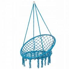 Подвесное кресло-качели (плетеное) Springos SPR0025 Blue
