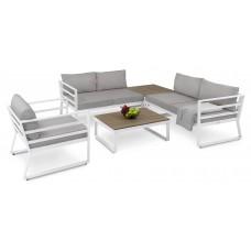 Набор садовой мебели di Volio Avola DV-020GF Белый/Серый