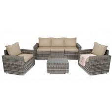 Комплект садовой мебели di Volio Prato DV-018GF Светло-серый/коричневый