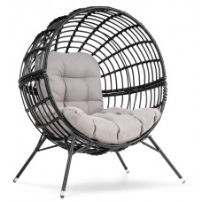 Садовое кресло di Volio Arancia DV-035BA черно-серый