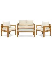 Комплект садовой мебели Brescia 2 Натуральный/кремовый