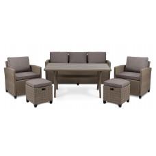 Комплект садовой мебели di Volio Genova - Бежевый / Светло-серый