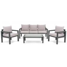 Комплект садовой мебели di Volio Brescia 3 Серый/Светло-серый