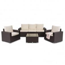 Комплект садовой мебели Prato Коричневый/Бежевый