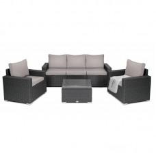 Комплект садовой мебели Prato Светло-серый/коричневый
