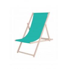Шезлонг (кресло-лежак) деревянный для пляжа, террасы и сада Springos DC0001 TR