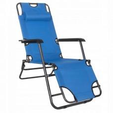 Шезлонг (кресло-лежак) для пляжа, террасы и сада Springos Zero Gravity GC0004