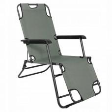 Шезлонг (кресло-лежак) для пляжа, террасы и сада Springos Zero Gravity GC0030